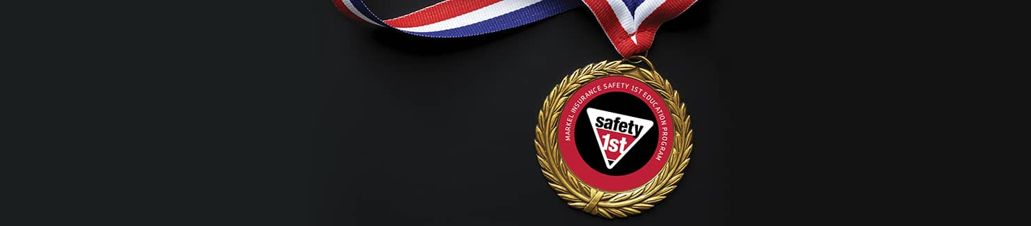 Safety 1st medal