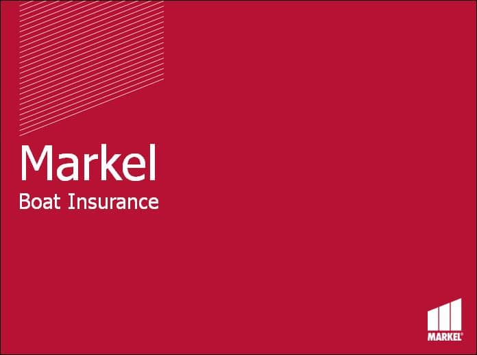 Markel Boat Insurance Product Overview