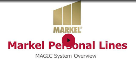 Markel Personal Lines Magic Overview