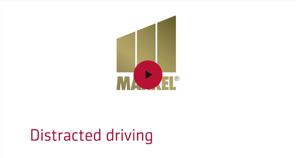 Markel's risk management video - Distracted driving