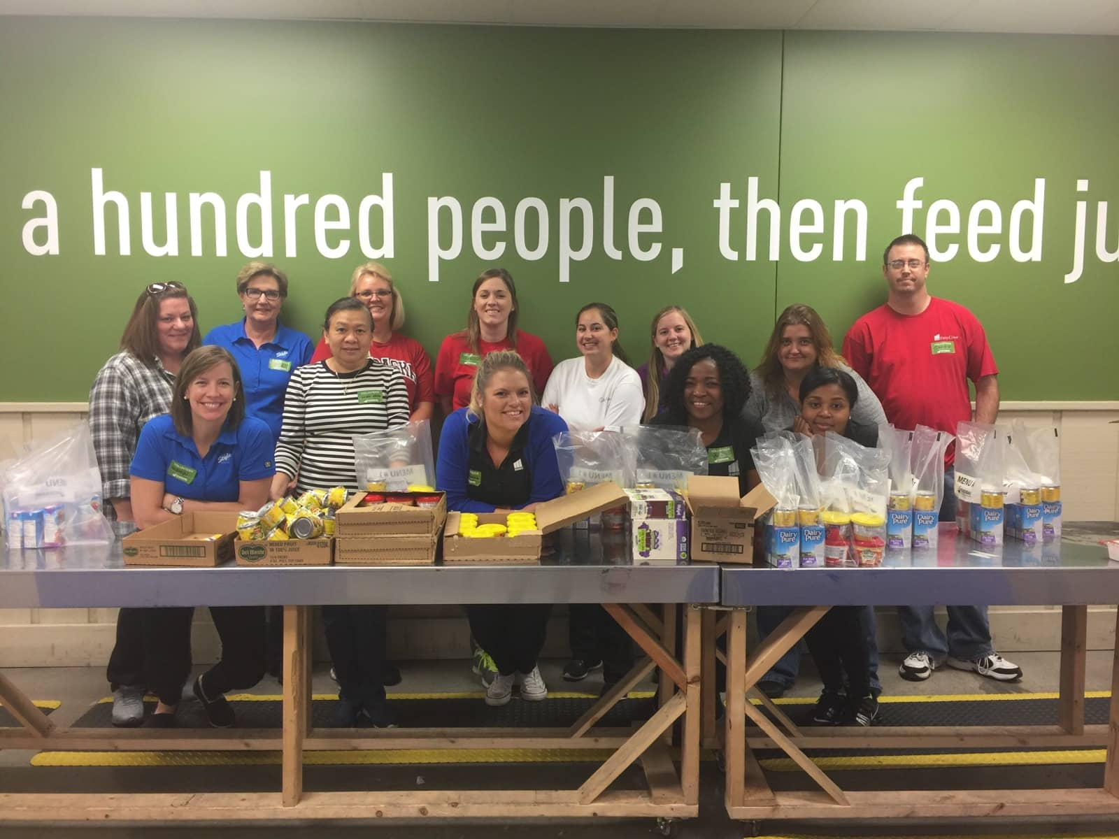 Markel Employees Help Fight Hunger